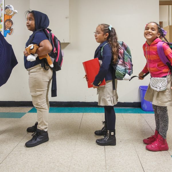 Our award-winning afterschool enrichment program, Out of School Time, now serves more than 600 students. And we serve 300 additional students in our other programs.